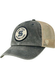 Penn State Nittany Lions Top of the World Keepsake Meshback Adjustable Hat - Charcoal