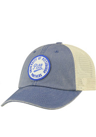 Pitt Panthers Top of the World Keepsake Meshback Adjustable Hat - Blue