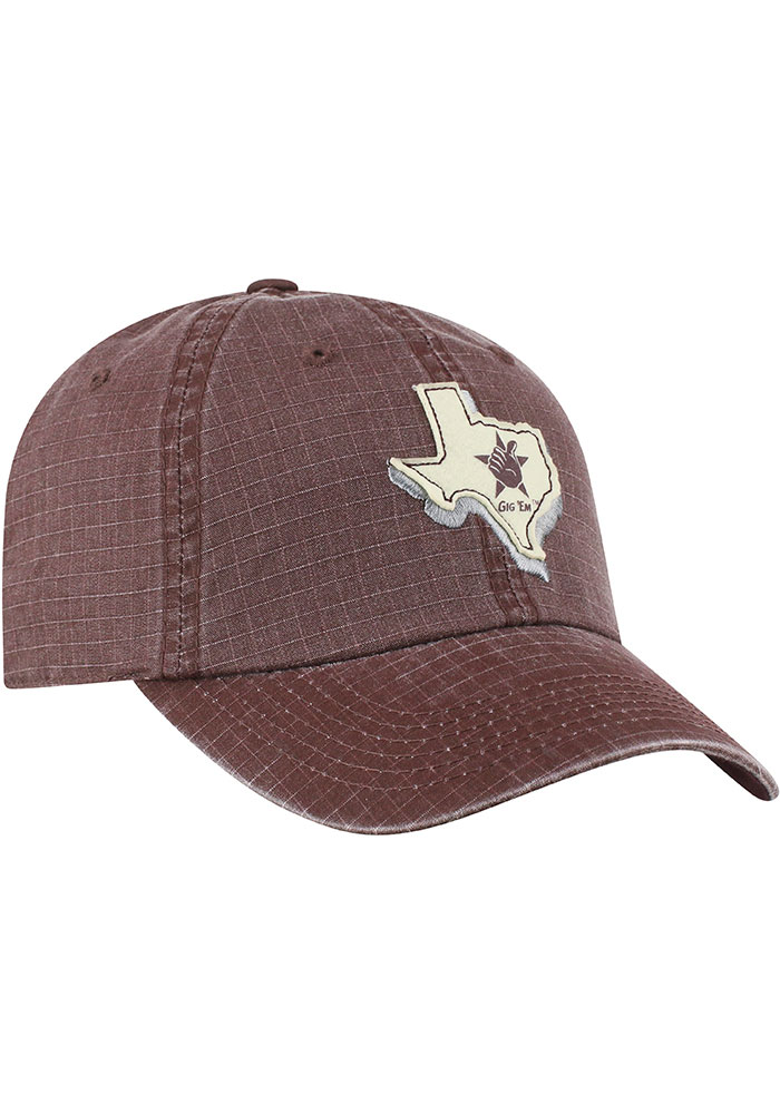 Top of the World Texas A&M Aggies Stateline Adjustable Hat - Maroon - Image 2