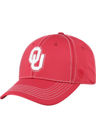 Oklahoma Sooners Top of the World Learning Curve Flex Hat - Crimson