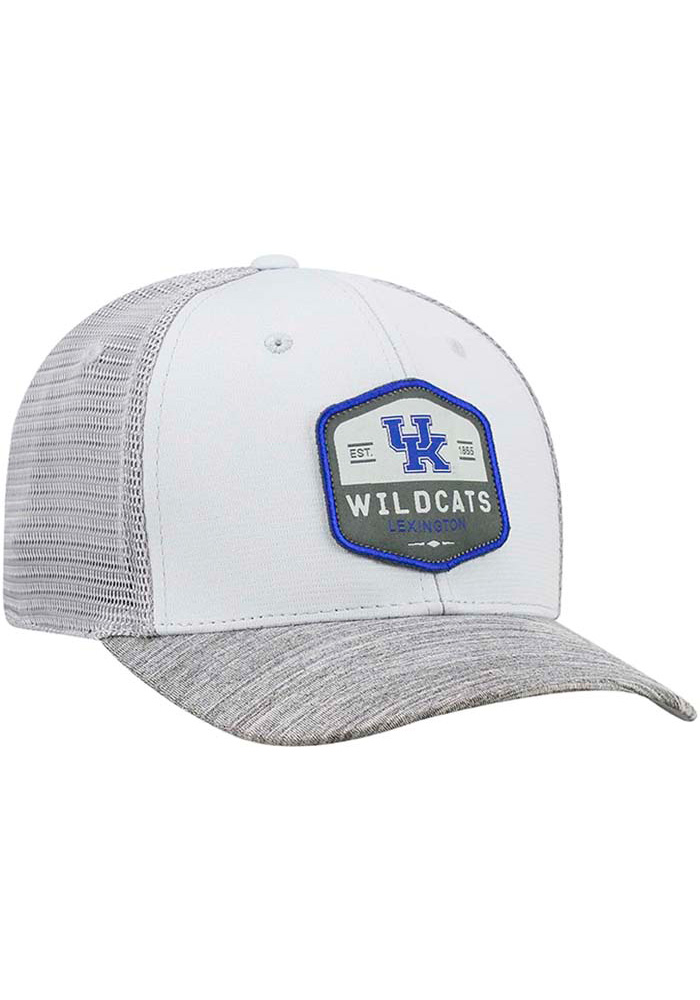 Top of the World Kentucky Wildcats Mens Grey Hyjak Flex Hat - Image 2