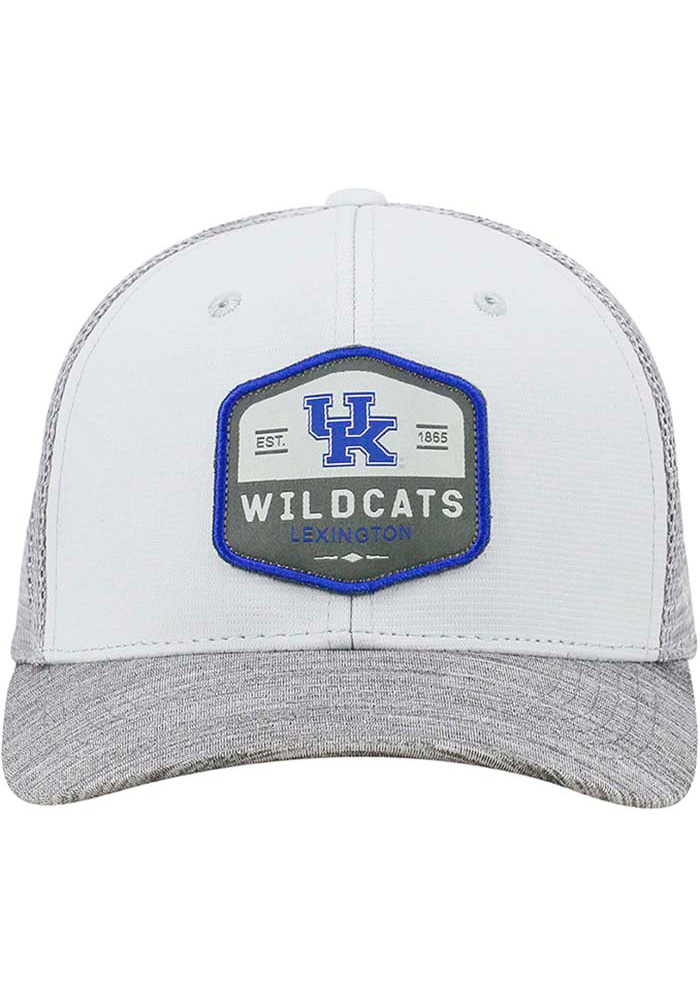 Top of the World Kentucky Wildcats Mens Grey Hyjak Flex Hat - Image 3
