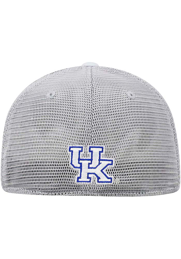 Top of the World Kentucky Wildcats Mens Grey Hyjak Flex Hat - Image 4