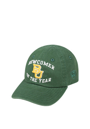 Top of the World Baylor Bears Green Newcomer Infant Adjustable Hat