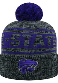 K-State Wildcats Top of the World Sockit To Me Knit - Grey