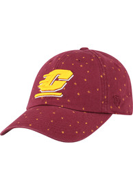 Central Michigan Chippewas Womens Top of the World Starlite Adjustable - Maroon