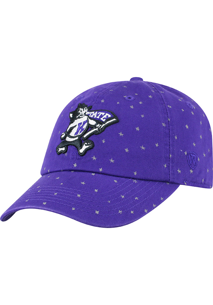 262f2bc29d5 Top of the World K-State Wildcats Womens Purple Starlite Adjustable Hat