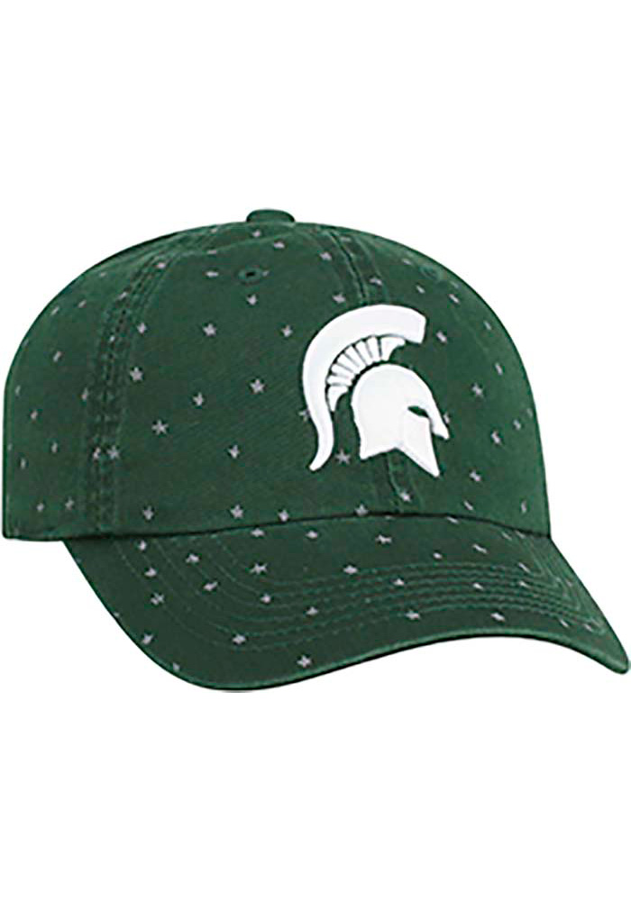 Top of the World Michigan State Spartans Green Starlite Womens Adjustable Hat - Image 2