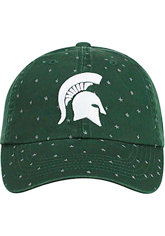 Top of the World Michigan State Spartans Green Starlite Womens Adjustable Hat - Image 3