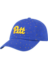 Pitt Panthers Womens Top of the World Starlite Adjustable - Blue