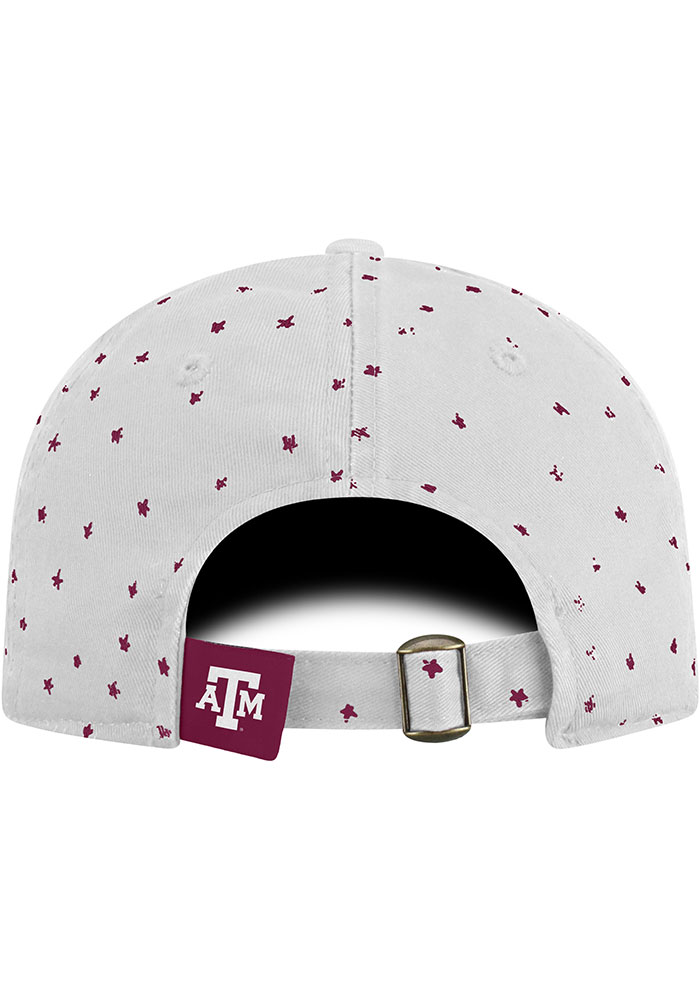 Top of the World Texas A&M Aggies White Starlite Womens Adjustable Hat - Image 2