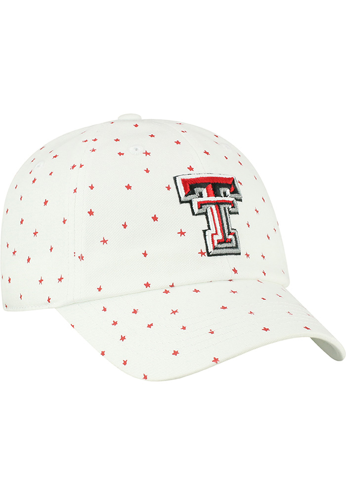 Top of the World Texas Tech Red Raiders White Starlite Womens Adjustable Hat - Image 2