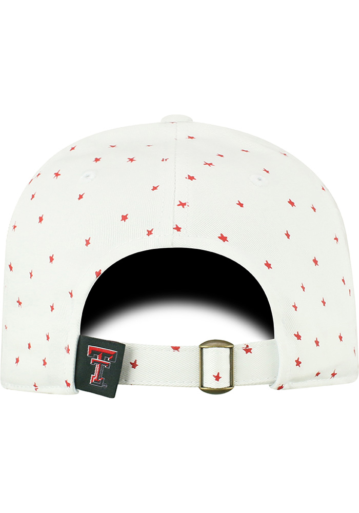 Top of the World Texas Tech Red Raiders White Starlite Womens Adjustable Hat - Image 4