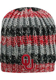 Oklahoma Sooners Womens Top of the World Realm Knit - Crimson
