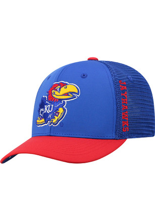 dd91b733710 Top of the World Kansas Jayhawks Blue Chatter Yth Youth Flex Hat