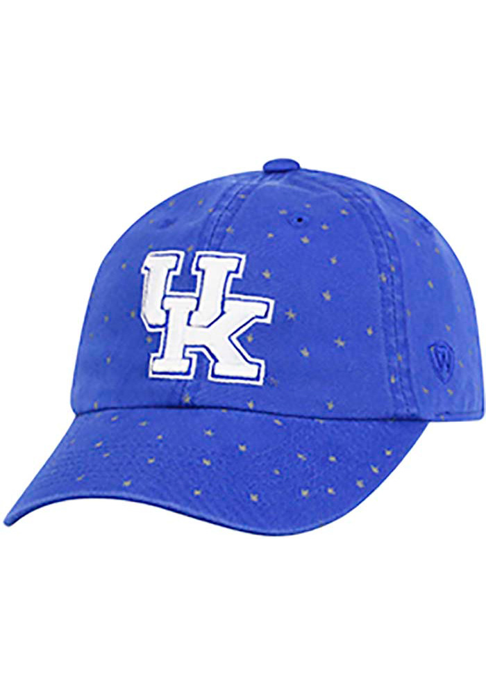 Top of the World Kentucky Wildcats Blue Starlite Womens Adjustable Hat - Image 1