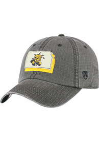 Wichita State Shockers Top of the World Stateline Adjustable Hat - Black