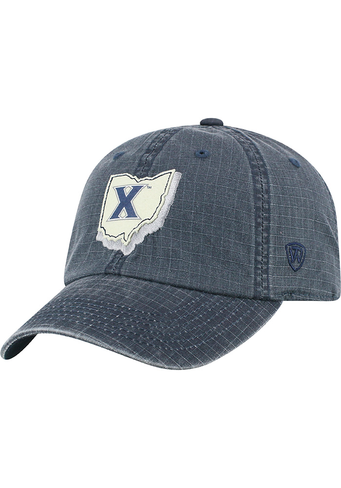 Top of the World Xavier Musketeers Stateline Adjustable Hat - Black - Image 1