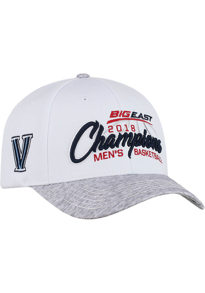 Top of the World Villanova Wildcats Big East 2018 Tournament Champ Adjustable Hat - White - Image 1