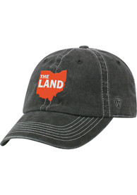 Cleveland Heavy Adjustable Hat - Charcoal