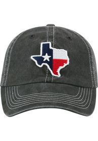 ce8ca0e9be764 Top of the World Texas Grey Heavy Adjustable Hat
