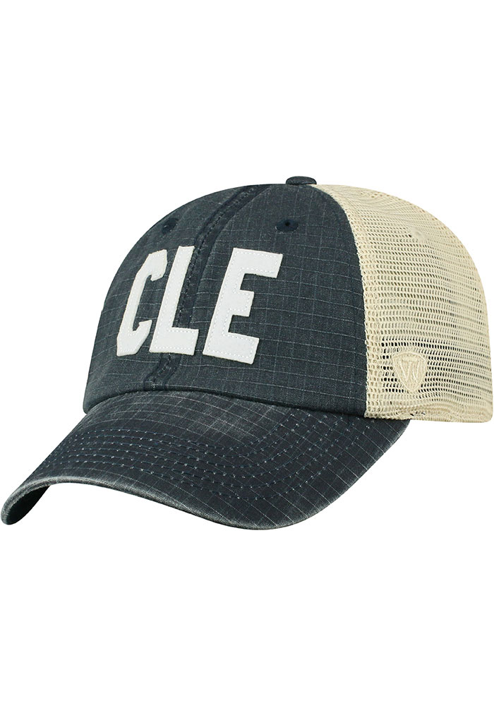 Top of the World Cleveland Raggs Meshback Adjustable Hat - Navy Blue - Image 1