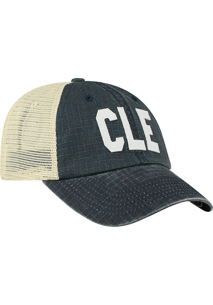Top of the World Cleveland Raggs Meshback Adjustable Hat - Navy Blue - Image 2
