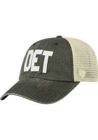 Detroit Top of the World Raggs Meshback Adjustable Hat - Black