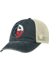 Texas Top of the World Raggs Meshback Adjustable Hat - Navy Blue