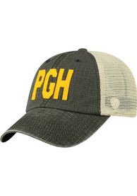 Pittsburgh Top of the World Raggs Meshback Adjustable Hat - Black