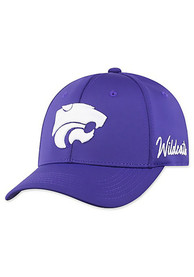 K-State Wildcats Top of the World Phenom Flex Hat - Purple