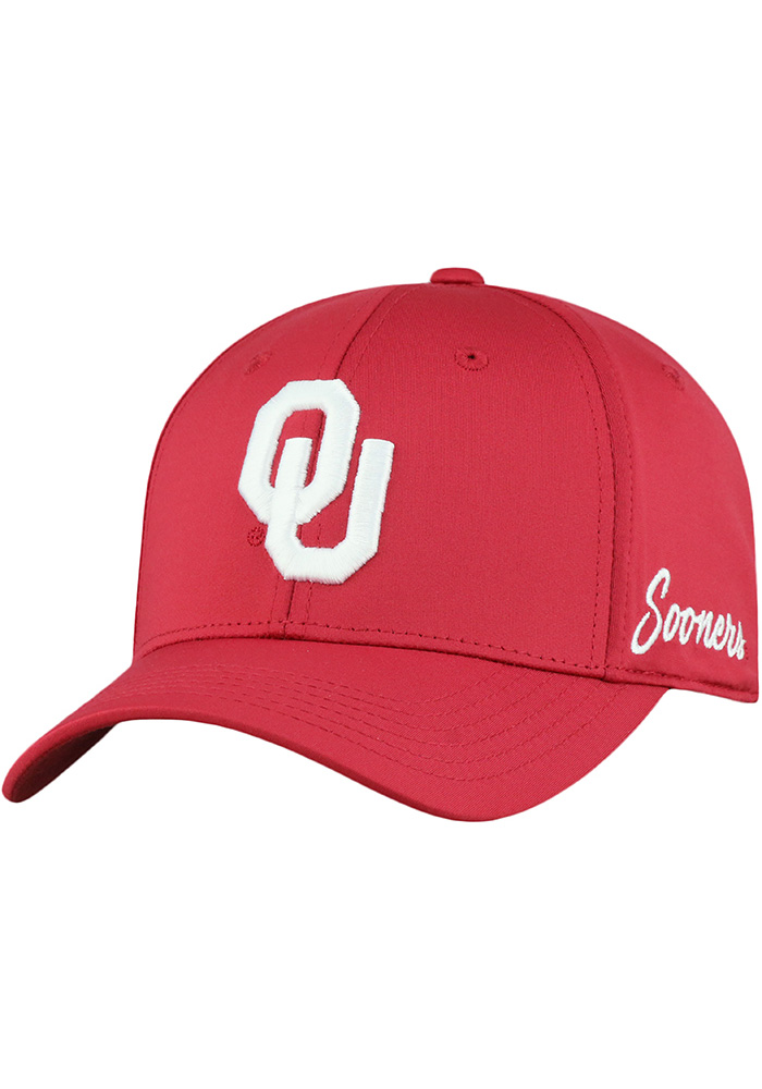 Top of the World Oklahoma Sooners Mens Crimson Phenom Flex Hat - Image 1