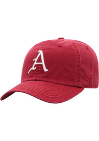 Arkansas Razorbacks Top of the World Crew Adjustable Hat - Red