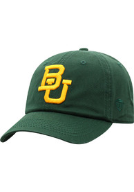Baylor Bears Top of the World Crew Adjustable Hat - Green