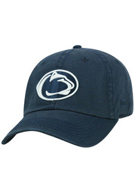 Penn State Nittany Lions Top of the World Crew Adjustable Hat - Navy Blue