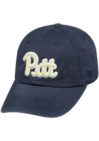 Pitt Panthers Top of the World Crew Adjustable Hat - Navy Blue