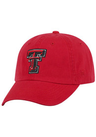 Texas Tech Red Raiders Top of the World Crew Adjustable Hat - Red