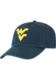 West Virginia Mountaineers Top of the World Crew Adjustable Hat - Navy Blue