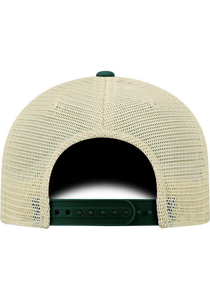 Top of the World Michigan State Spartans Basketball Dirty Mesh Adjustable Hat - Green - Image 2