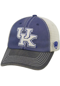 Kentucky Wildcats Top of the World Offroad Adjustable Hat - Blue