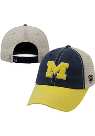 Michigan Wolverines Top of the World Offroad Adjustable Hat - Navy Blue