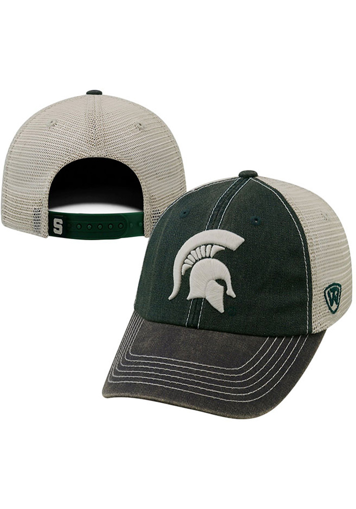 official photos e57ae eefed Top of the World Michigan State Spartans Offroad Adjustable Hat - Green -  Image 1