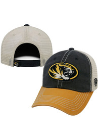 Missouri Tigers Top of the World Offroad Adjustable Hat - Gold