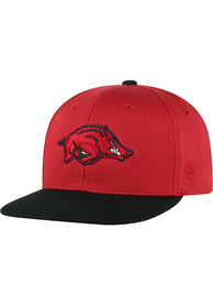 Top of the World Arkansas Razorbacks Youth Red Maverick Snapback Hat