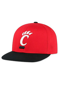 Cincinnati Bearcats Youth Top of the World Maverick Snapback Hat - Red