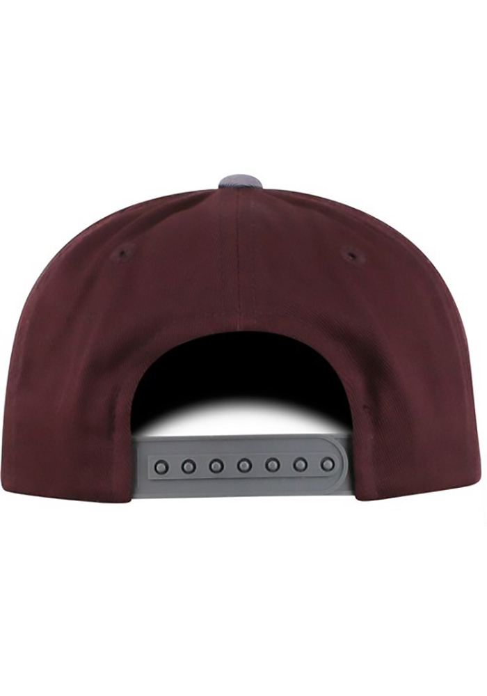 Top of the World Texas A&M Aggies Maroon Maverick Youth Snapback Hat - Image 2
