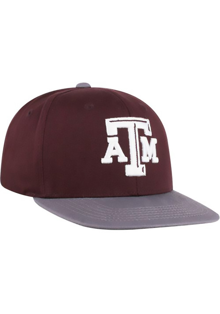 Top of the World Texas A&M Aggies Maroon Maverick Youth Snapback Hat - Image 3