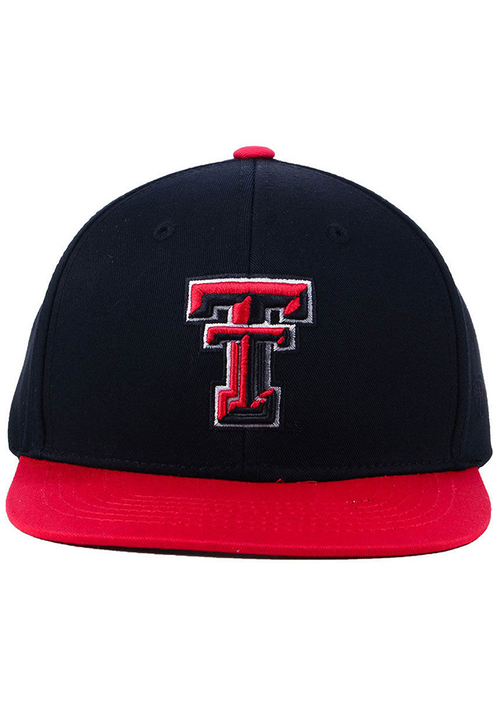 Top of the World Texas Tech Red Raiders Red Maverick Youth Snapback Hat - Image 1