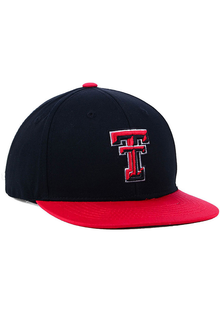 Top of the World Texas Tech Red Raiders Red Maverick Youth Snapback Hat - Image 3