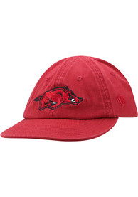 Arkansas Razorbacks Baby Top of the World Mini Me Adjustable Hat - Red